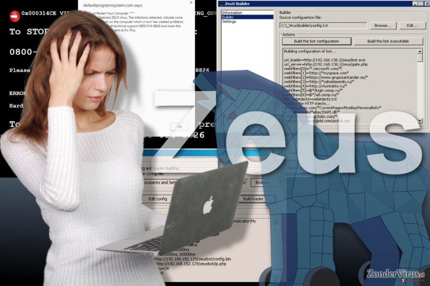 Afbeelding van het Zeus-virus