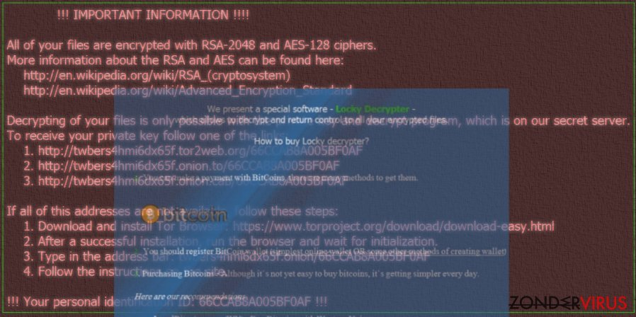 Zzzzz ransomware keeps the virtual world in a firm grip